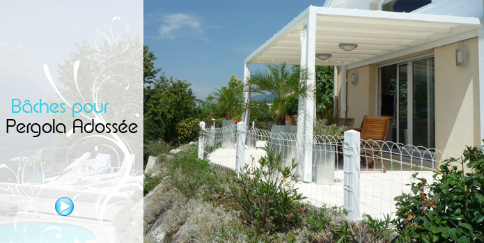 bache pvc pergola sur mesure toldos y pergolas. Black Bedroom Furniture Sets. Home Design Ideas